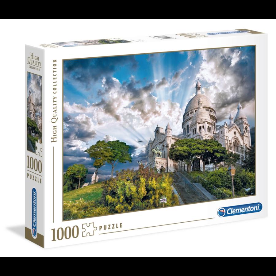 Mont Martre - puzzel van 1000 stukjes-2