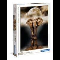 thumb-Olifant - puzzel van 1000 stukjes-1
