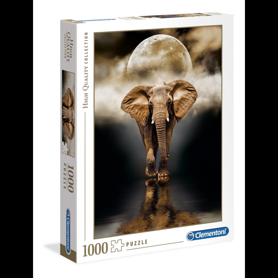 Olifant - puzzel van 1000 stukjes-1