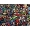 Clementoni Marvel - puzzle de 1000 pièces