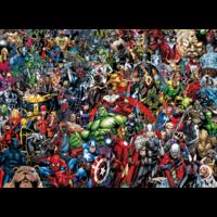 thumb-Marvel - puzzle de 1000 pièces-1
