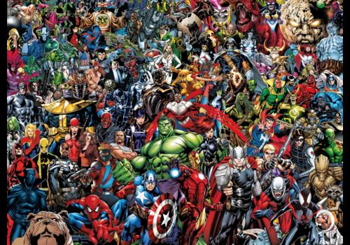 Clementoni Marvel - 1000 pièces