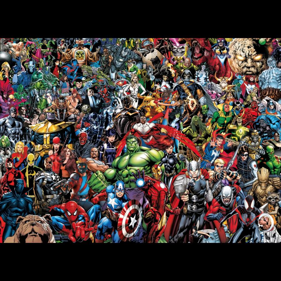 Marvel - puzzle de 1000 pièces-1