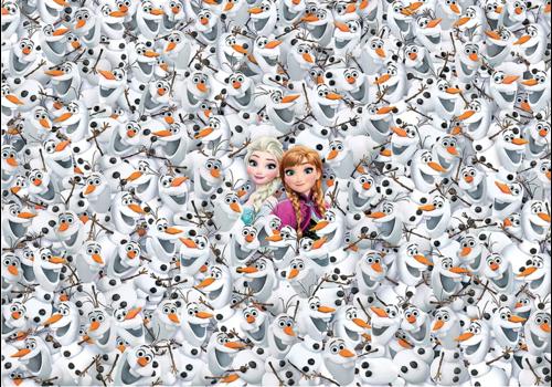 Clementoni Frozen - 1000 pièces