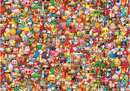 Clementoni Emoji - 1000 pièces