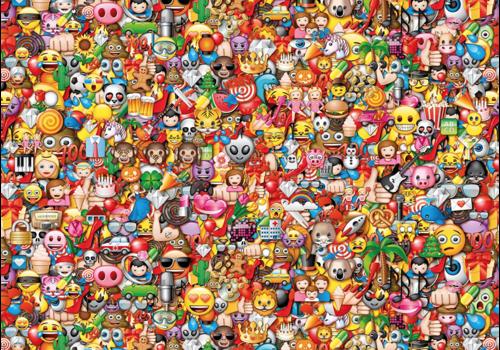 Clementoni Emoji - 1000 stukjes