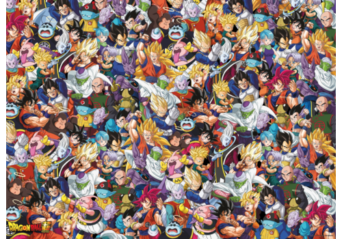 Clementoni Dragon Ball - 1000 pieces