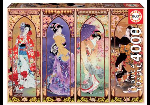 Educa Japanese Collage - 4000 pieces