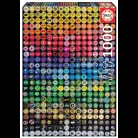 thumb-Capuchons de couronne de collage - puzzle de 1000 pièces-1