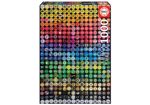 Educa Collage kroonkurken - 1000 stukjes