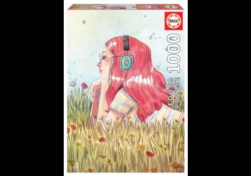 Educa Juni - Esther Gili - 1000 pièces