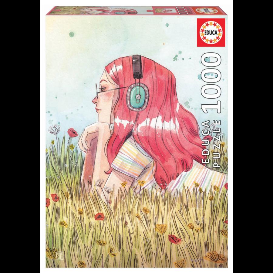 Juni - Esther Gili - puzzle de 1000 pièces-1