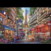 thumb-Parijs - Dominic Davison - puzzel 1000 stukjes-2