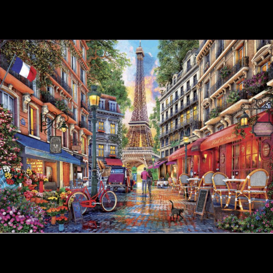 Parijs - Dominic Davison - puzzel 1000 stukjes-2