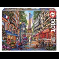 thumb-Parijs - Dominic Davison - puzzel 1000 stukjes-1