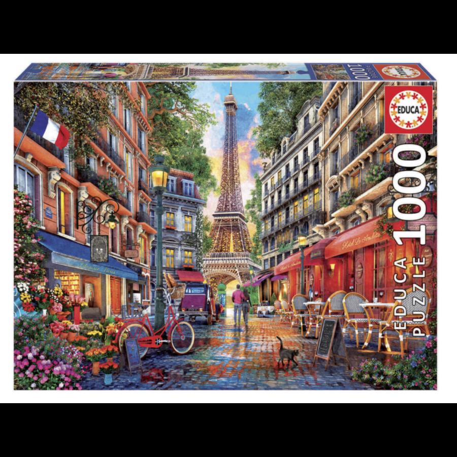 Parijs - Dominic Davison - puzzel 1000 stukjes-1