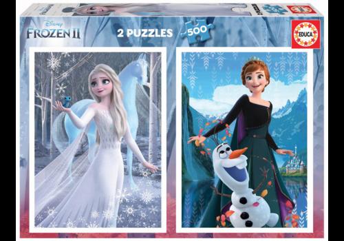 Educa Frozen   - 2 x 500 pieces puzzle