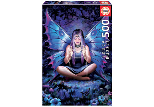 Educa La dame aux papillons - Anne Stokes - 500 pièces