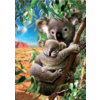 Educa De Koala en zijn kleintje  - legpuzzel van 500 stukjes