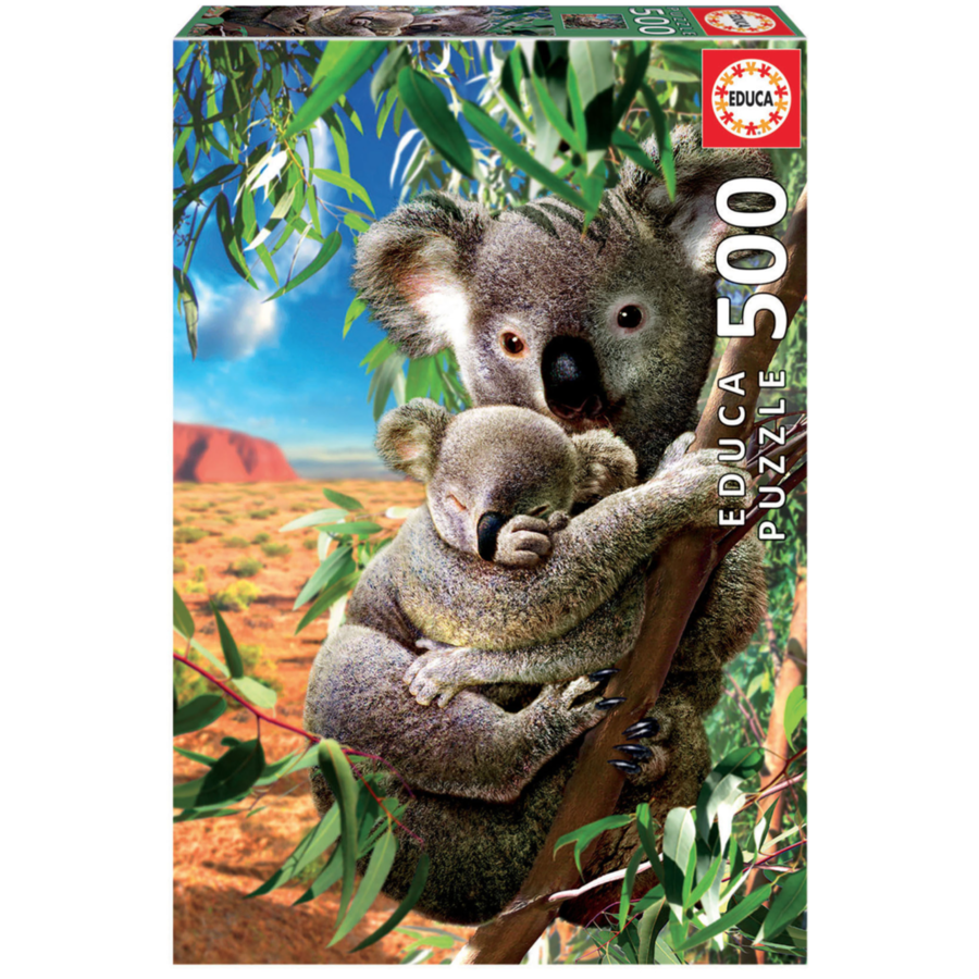 Le Koala et son petit - puzzle de 500 pièces-2