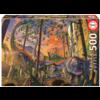 Educa Nieuwsgierige Dino - legpuzzel van 500 stukjes