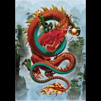 thumb-De draak - legpuzzel van 500 stukjes-2