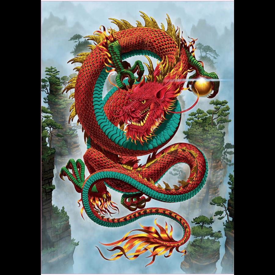 De draak - legpuzzel van 500 stukjes-2