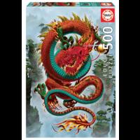thumb-De draak - legpuzzel van 500 stukjes-1