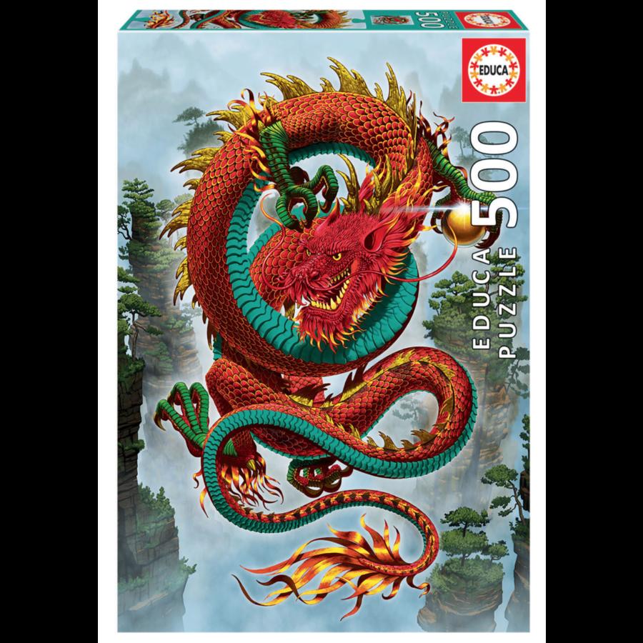 De draak - legpuzzel van 500 stukjes-1