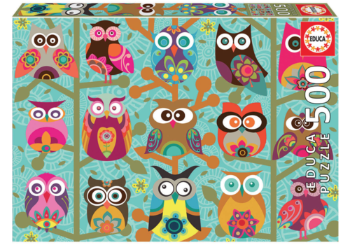 Educa The Owls - 500 pieces