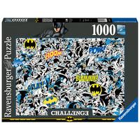 thumb-Batman - Challenge - puzzle de 1000 pièces-2