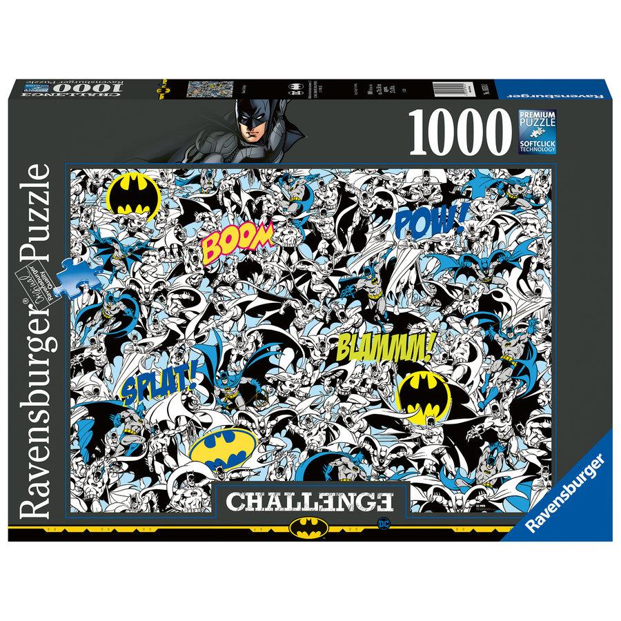 Batman - Challenge - puzzel van  1000 stukjes-2