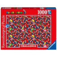 thumb-Super Mario - Challenge - puzzel van  1000 stukjes-2