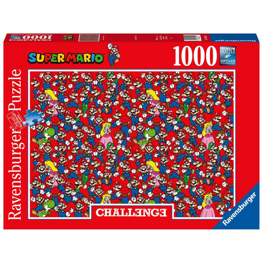 Super Mario - Challenge - puzzel van  1000 stukjes-2