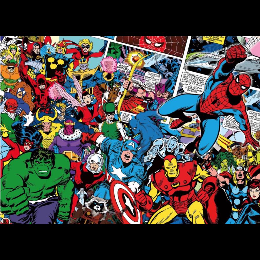 Marvel - Challenge - puzzle de 1000 pièces-1