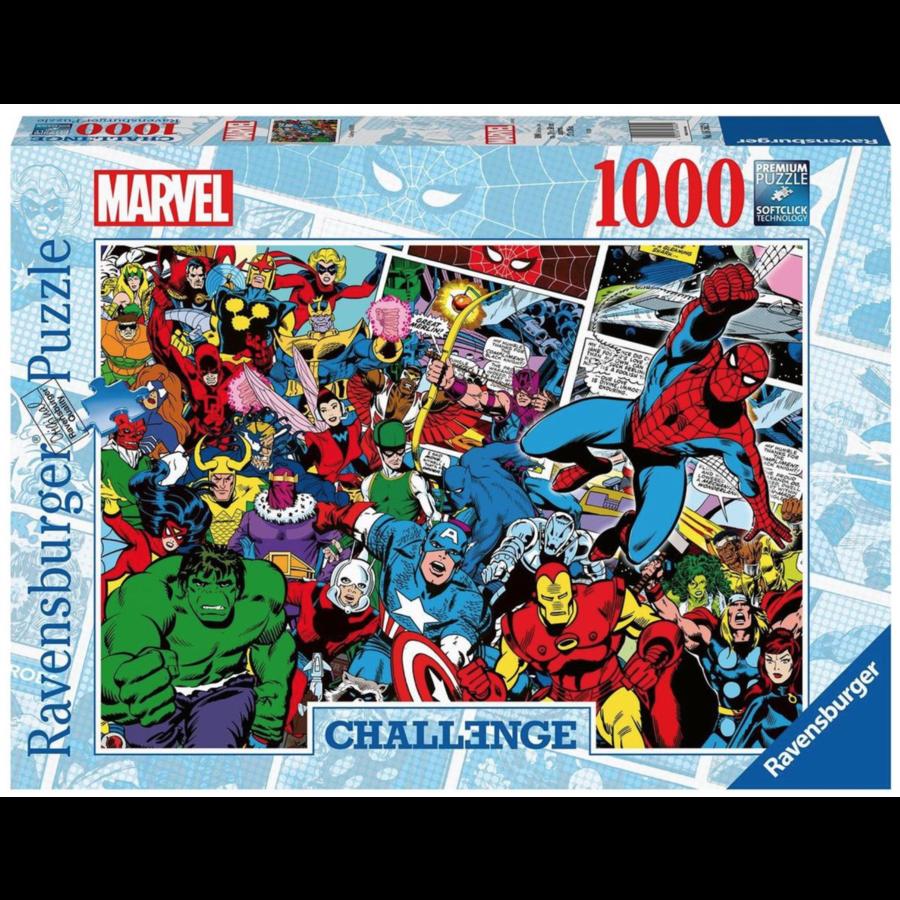 Marvel - Challenge - puzzle de 1000 pièces-2