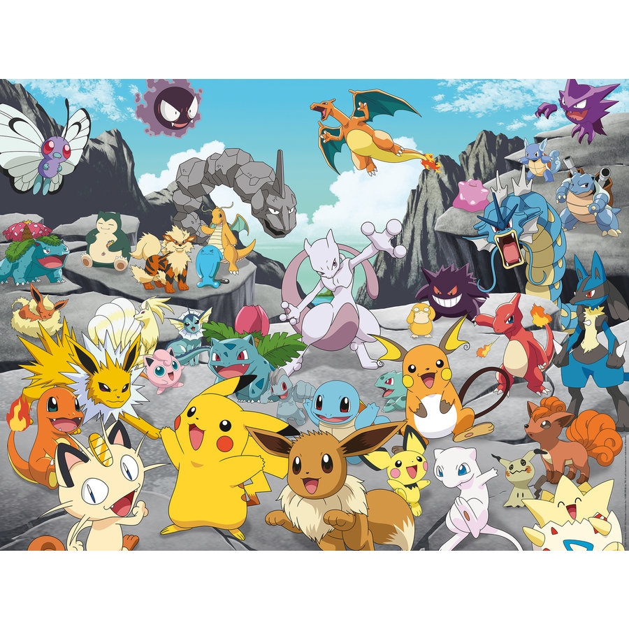 Pokemon Classics - puzzel van 1500 stukjes-2