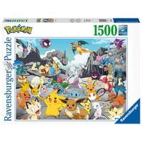 thumb-Pokemon Classics - puzzle de 1500 pièces-1