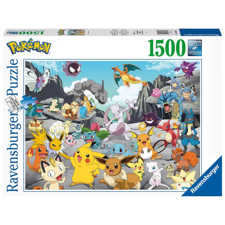 Pokemon Classics - puzzel van 1500 stukjes-1