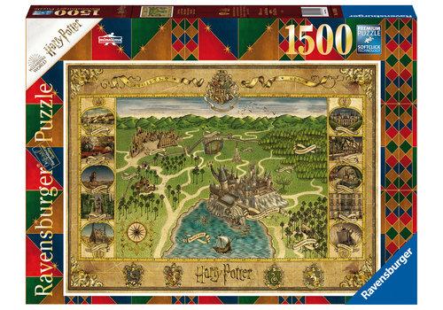Ravensburger Harry Potter - Hogwarts Map - 1500 stukjes