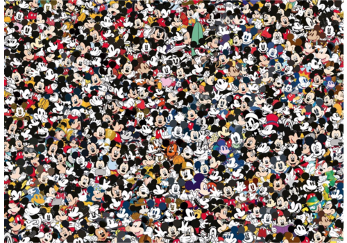 Ravensburger Mickey Mouse - Challenge - 1000 pieces