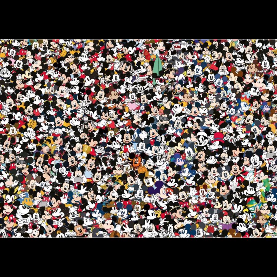 Mickey Mouse - Challenge - puzzel van  1000 stukjes-1
