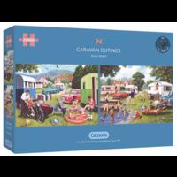 thumb-Sorties en caravane - 2 puzzles de 500 pièces-1