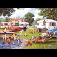 thumb-Sorties en caravane - 2 puzzles de 500 pièces-2