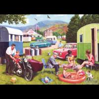 thumb-Sorties en caravane - 2 puzzles de 500 pièces-3