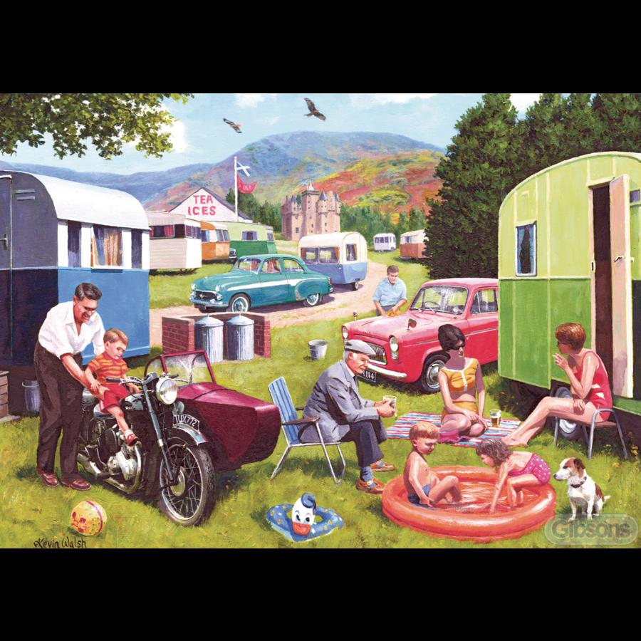 Sorties en caravane - 2 puzzles de 500 pièces-3