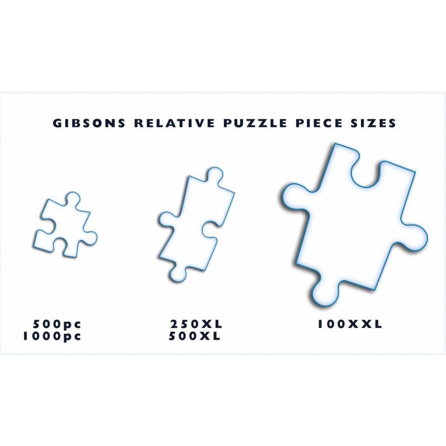 L'animalerie - puzzle de pièces 500XL-3