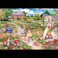 thumb-Souvenirs d'enfance - puzzle de 100 XXL pièces-2