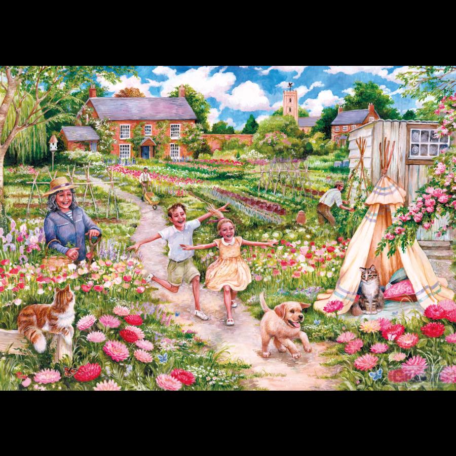 Souvenirs d'enfance - puzzle de 100 XXL pièces-2