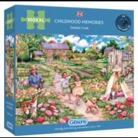thumb-Souvenirs d'enfance - puzzle de 100 XXL pièces-1